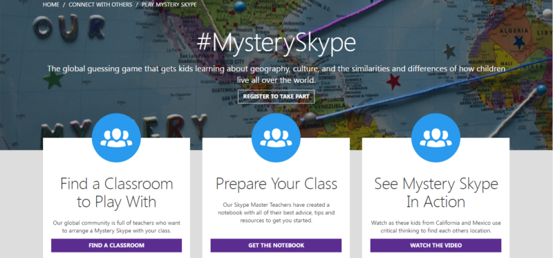 How to do a Mystery Skype