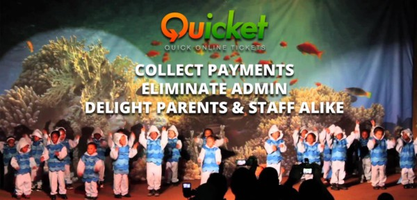 Quicket - A Quicker Way to Do School Events
