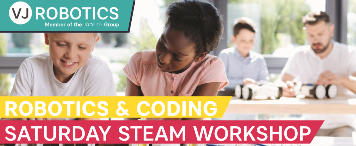 VJ Robotics STEAM Workshops in May